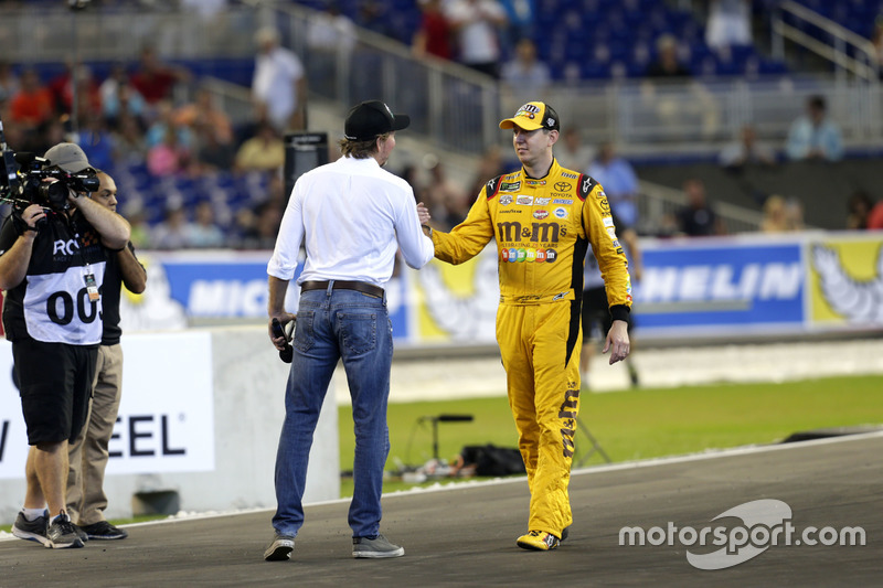 Kyle Busch y Fredrik Johnsson, RoC