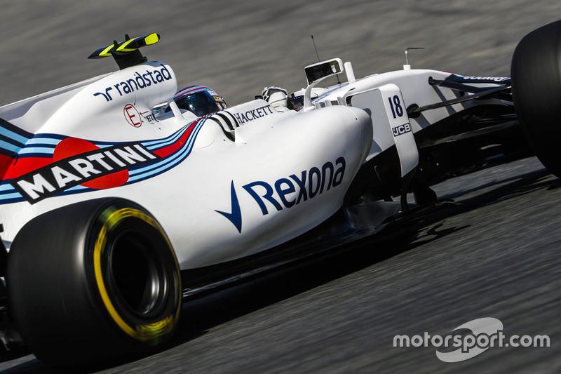 16. Lance Stroll, Williams FW40