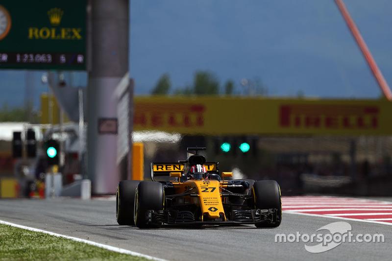 8 місце — Ніко Хюлькенберг, Renault. Умовний бал — 13,563
