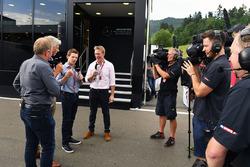 Martin Brundle, Sky TV, Damon Hill, Sky TV, Anthony Davidson, Sky TV, Simon Lazenby, Sky TV