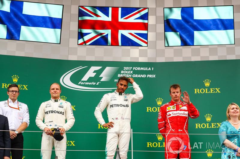 Валттері Боттас, Mercedes AMG F1, Льюіс Кімі Райкконен, Ferrari