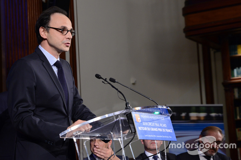Nicolas Deschaux, FFSA presidente