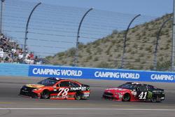 Martin Truex Jr., Furniture Row Racing, Toyota; Kurt Busch, Stewart-Haas Racing, Ford