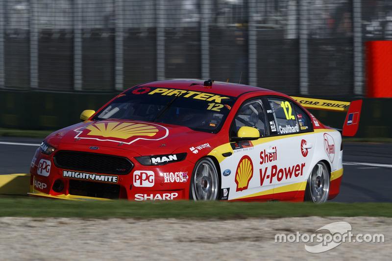 #12: Fabian Coulthard, Team Penske, Ford