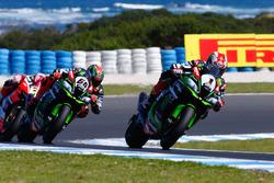 Jonathan Rea, Kawasaki Racing y Tom Sykes, Kawasaki