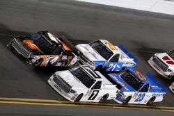 Brett Moffitt, Red Horse Racing, Toyota; Christopher Bell, Kyle Busch Motorsports, Toyota