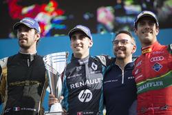 Podium: 1. Sébastien Buemi, Renault e.Dams; 2. Jean-Eric Vergne, Techeetah; 3. Lucas di Grassi, ABT