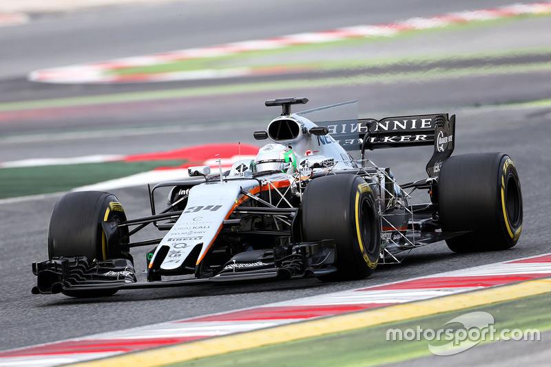 Альфонсо Селіс-мол., пілот з розвитку Sahara Force India F1 VJM10