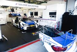 Car of Maxime Martin, BMW Team RBM, BMW M4 DTM