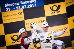 1. Maro Engel, Mercedes-AMG Team HWA, Mercedes-AMG C63 DTM; 2. Mattias Ekström, Audi Sport Team Abt