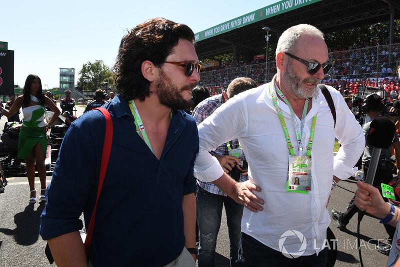 Италия: актеры Лиам Каннингэм и Кит Хэрингтон