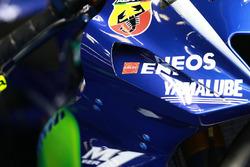Verkleidung am Bike von Valentino Rossi, Yamaha Factory Racing