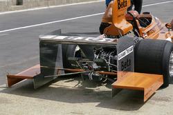 Vittorio Brambilla, March 751 Ford, estensioni per l'ala posteriore