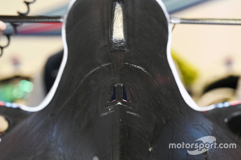 Williams FW40. Karosserie, Detail
