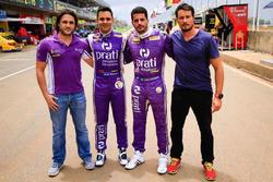 Xandy Mattheis, Antonio Pizzonia, Júlio Campos e Rodolpho Mattheis