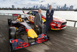 AGPC CEO Andrew Westacott and Supercars CEO James Warburton