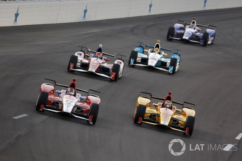 Marco Andretti, Andretti Autosport Honda, Ryan Hunter-Reay, Andretti Autosport Honda