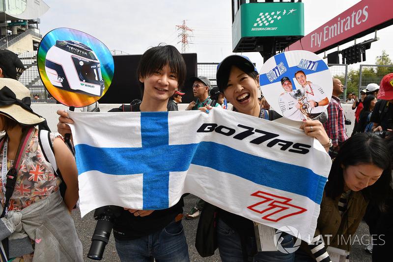 Уболівальники Валттері Боттаса, Mercedes AMG F1