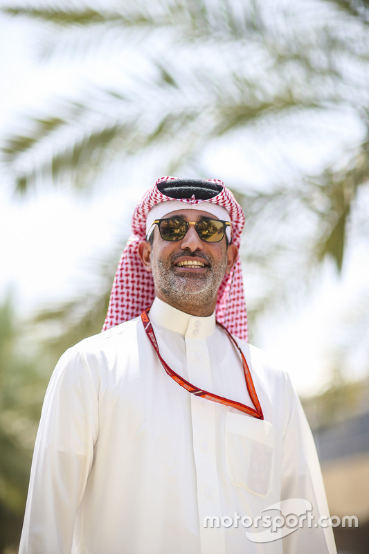Shaikh Salman bin Isa Al Khalifa, CEO, Bahrain International Circuit