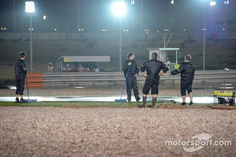 Track drying