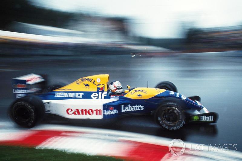 8. El Williams FW14B de Fórmula 1