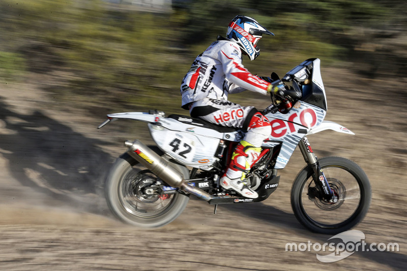 #42 Hero MotoSports Team Rally: CS Santosh