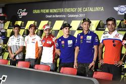 Alvaro Bautista, Aspar Racing Team, Marc Marquez, Repsol Honda Team, Maverick Viñales, Yamaha Factory Racing, Valentino Rossi, Yamaha Factory Racing, Danilo Petrucci, Pramac Racing