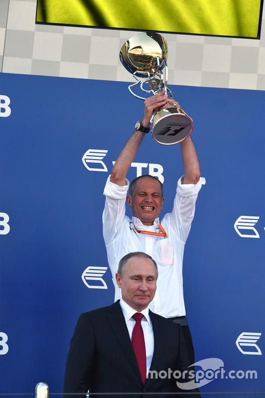 Tony Ross, Mercedes AMG F1 Race Engineer