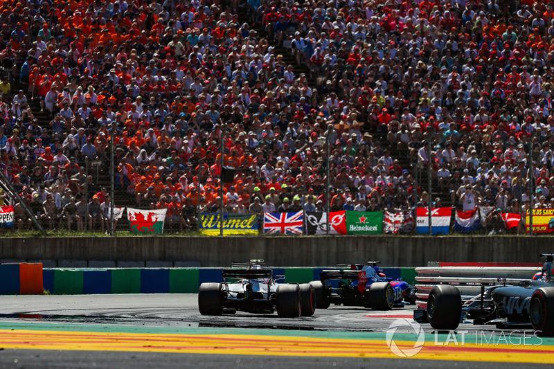 Данііл Квят, Scuderia Toro Rosso STR12, Ленс Стролл, Williams FW40