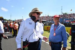 Niki Lauda, Mercedes AMG F1, Aufsichtsratsvorsitzender, Mansour Ojjeh, TAG-Chef