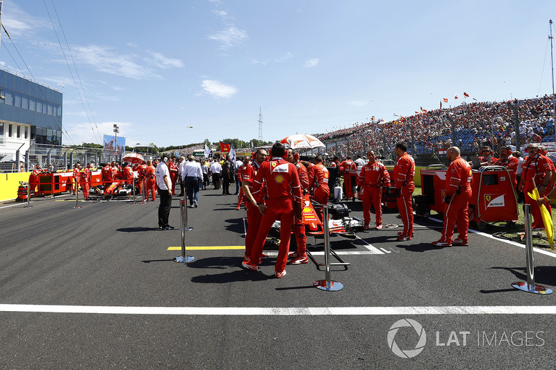 Los ingenieros de Ferrari