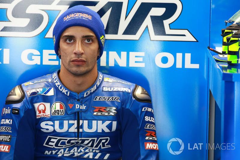 Андреа Янноне,Team Suzuki (MotoGP, 13-е место в общем зачете,70 очков)