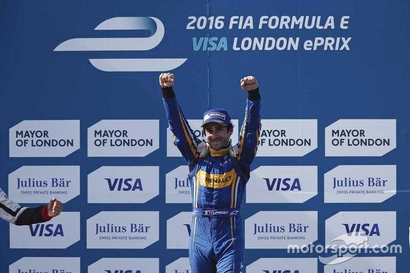 Race winner Nicolas Prost, Renault e.Dams