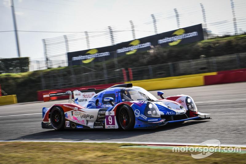 #9 Graff Racing, Ligier JS P3 - Nissan: Eric Trouillet, Paul Petit, Enzo Guibbert