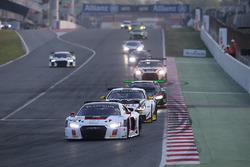 #75 ISR, Audi R8 LMS: Frank Stippler, Filip Salaquarda