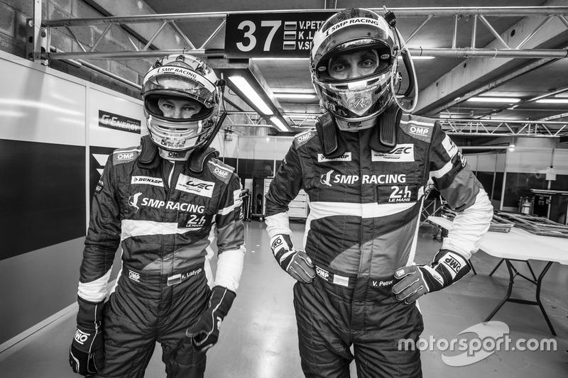 #37 SMP Racing BR01 Nissan: Віталій Петров, Кирило Ладигін