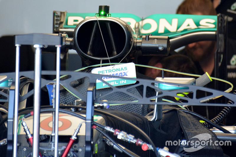 Mercedes AMG F1 в гаражі