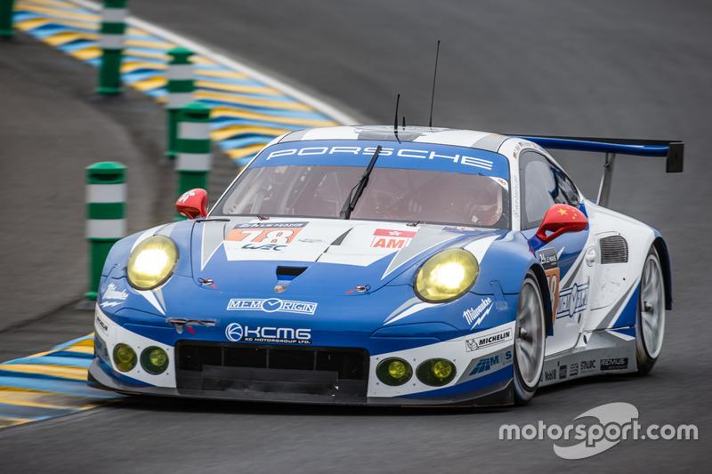 55: Porsche 911 RSR команды KCMG (№78): Кристиан Рид, Вольф Хенцлер, Жоэль Каматьяс
