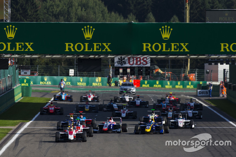 Start: Charles Leclerc, ART Grand Prix leads