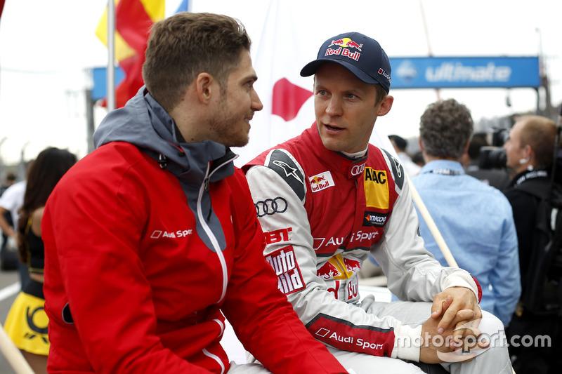 Edoardo Mortara, Audi Sport Team Abt Sportsline, Audi RS 5 DTM and Mattias Ekström, Audi Sport Team