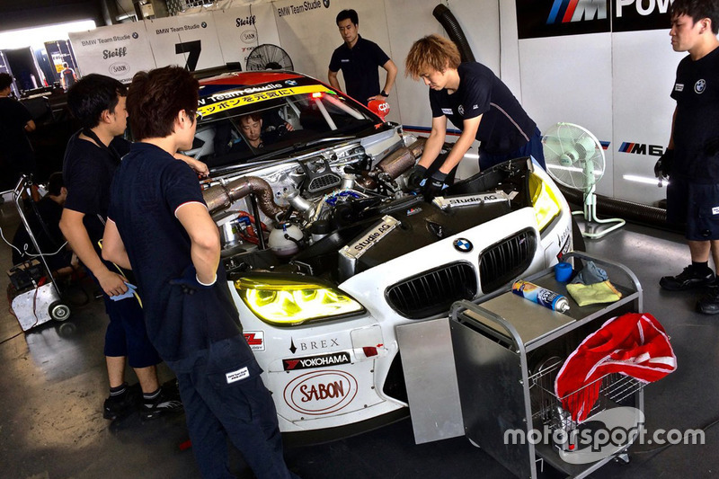 #7 BMW Team Studie, BMW M6 GT3