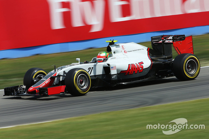 11. Esteban Gutierrez, Haas F1 Team VF-16