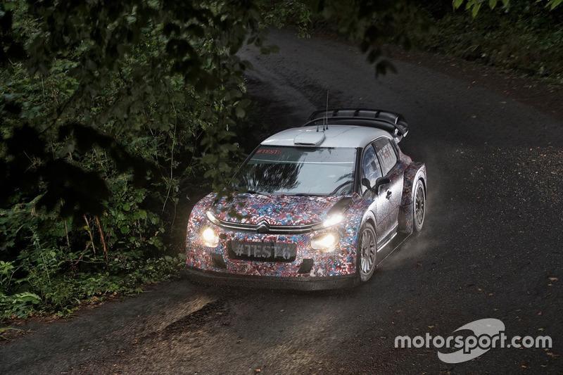 Kris Meeke, Paul Nagle, Craig Breen e Scott Martin , Citroën World Rally Team, Citroën C3 WRC Plus 2