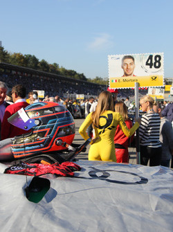 Helmet of Edoardo Mortara, Audi Sport Team Abt Sportsline, Audi RS 5 DTM