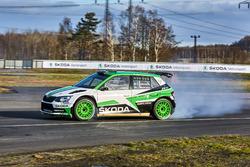 Pontus Tidemand, Jonas Andersson, Skoda Fabia R5, Skoda Motorsport