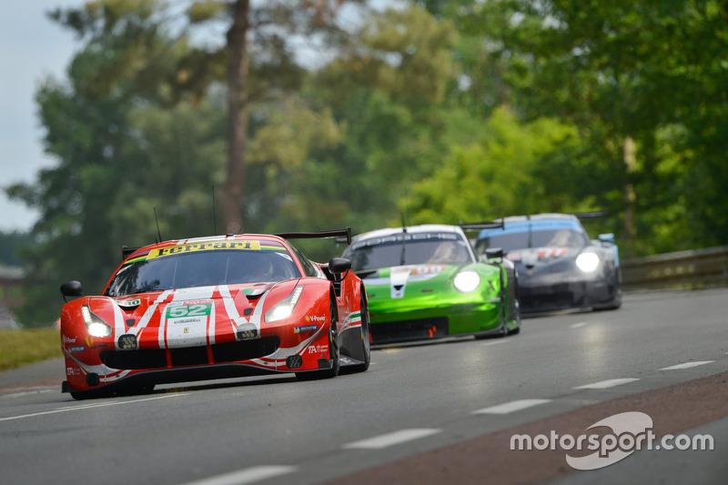 アントニオ・ジョビナッツィ(F1出走 2回):#52 AF Corse Ferrari 488 GTE EVO