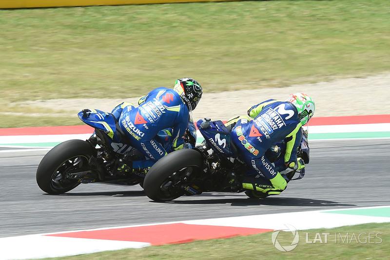 Valentino Rossi, Yamaha Factory Racing, Andrea Iannone, Team Suzuki MotoGP