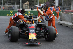 Hasarlı araç, Daniel Ricciardo, Red Bull Racing