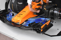McLaren MCL33 front wing detail new version