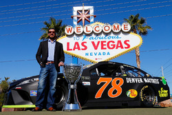 Campeón 2017 Martin Truex Jr., Furniture Row Racing Toyota